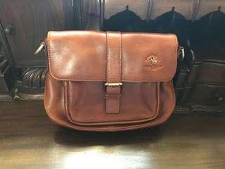 🚚 Santa Barbara Authentic Leather Handbag