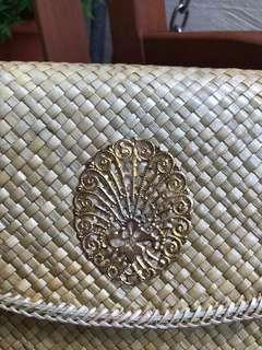 🚚 Authentic handmade clutch from Indonesia