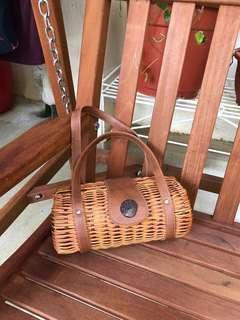 🚚 Authentic Handmade Ratan bag