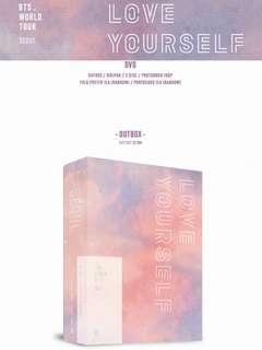 [PREORDER] BTS WORLD TOUR 'LOVE YOURSELF' SEOUL DVD