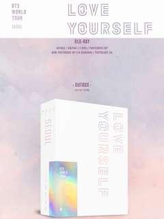 [PREORDER] BTS WORLD TOUR 'LOVE YOURSELF' SEOUL Blu-ray