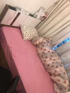 雙人床連8吋高床褥 ⭐️3月尾取⭐️