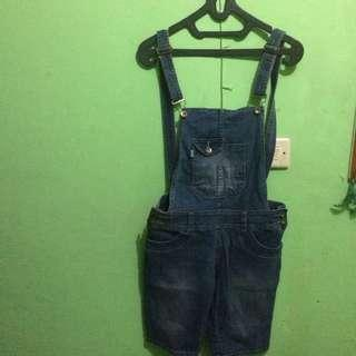Overall Jeans Jumpsuit Jeans