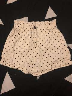 Supre polka dot shorts