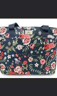 Jujube Midnight Posy Tote Bag