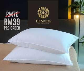 PROMO The Sultan Hotel Pillow RM39/pcs