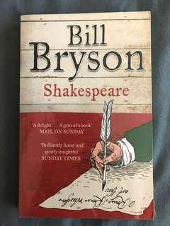 Shakespeare (Eminent Lives Series) by Bill Bryson