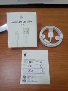 [$7] iPhone Original Cable Brand New in Box 1metre