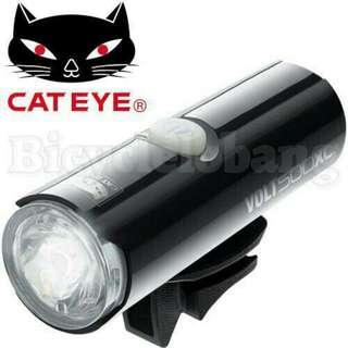 CATEYE HL-EL050RC VOLT 80 Lumen USB Recharge Front Head Light Headlight