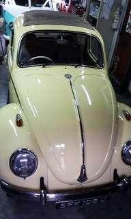Volkswagen Convertable Beetle 1966