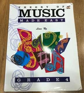 Grade 4 music theory (Theory of music of music made easy book)