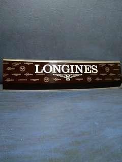 """""""LONGINES"""" Signage"""
