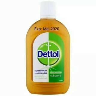 Masi segel!! Dettol liquid antiseptik cair 500ml