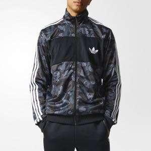 Adidas X Bape Firebird Jacket Blue Camouflage