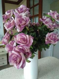 🚚 Beautiful Flower Vase(white) For Sale