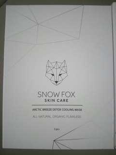 Snow fox mask