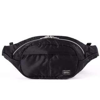 Head Porter Japan Oval Tanker Black Waist Bag cfaec1ffef7fd