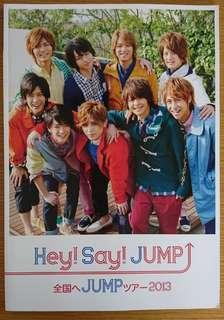 Hey! Say! JUMP「Hey!Say!JUMP TOUR 2013全国へJUMPツアー」場刊