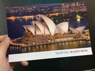 澳洲悉尼歌劇院明信片