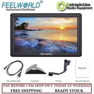 "FEELWORLD FW568 5.5"" 4K FIELD MONITOR IPS FULL HD SUPPORT HDMI INPUT OUTPUT TILT"