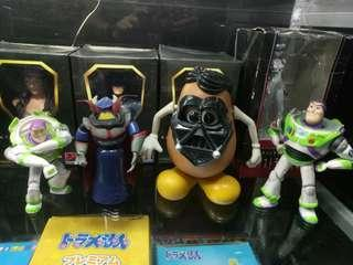 toy story set of 4