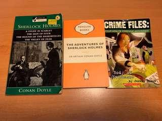🚚 ASSORTED MYSTERY DETECTIVE BOOKS