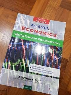 Alevel Econs Essay Guidebook