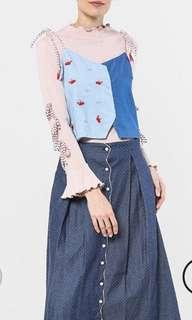 Outer string top