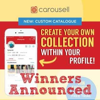 WIN Exclusive 1-Month Custom Catalogue Free Trial! 🎁