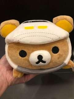 日本JR鬆弛熊公仔