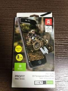 iphone7 磨砂mon貼x2