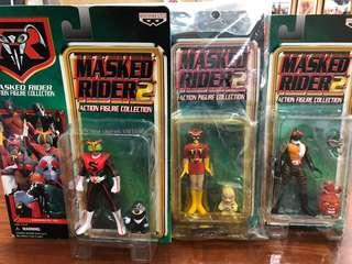 Action figure collection kamen rider