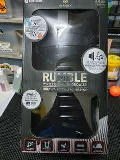 Rumble wireless speaker/thermost/power bank