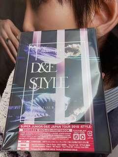 赫海日巡STYLE 2018 初回限定盤 DVD