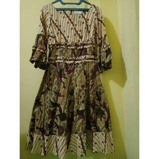 Batik Dress for Party | Size S