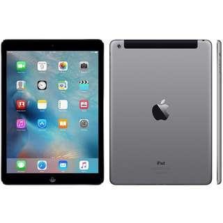 * iPad Air 64Gb Wifi + Cellular Space Grey