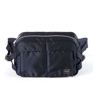 Head Porter Japan Tanker 2-Way Navy Waist Bag 786416b71fbc5