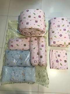 Baby Newborn Kids Children Bedding Crib Set