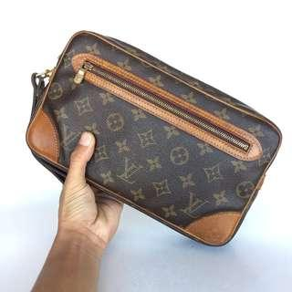 Authentic Louis Vuitton Marly Dragonne Clucth Bag Made In France Tinggi 16cm x Lebar 26cm Good Condition Cod Kota Bharu Rm750 Datecode Inside http://www.wasap.my/60104550163