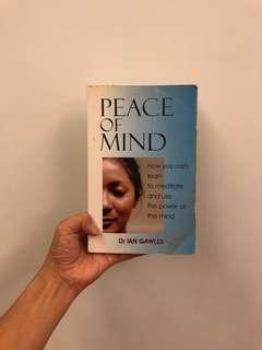 Peace of book