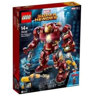 LEGO 76105 Marvel Hulkbuster: Ultron Edition