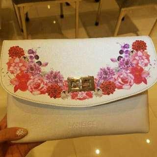 Laneige flower pouch
