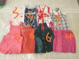 Kids Clothing (Girls 2 - 3 y.o.)