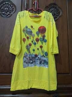 Atasan Kuning Balon Udara Bling2