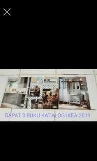 Bundling dapat 3 buku katalog IKEA 2019