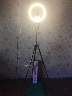 Ring light with yunteng stand