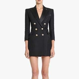 ON HAND Small Balmain Dress Coat