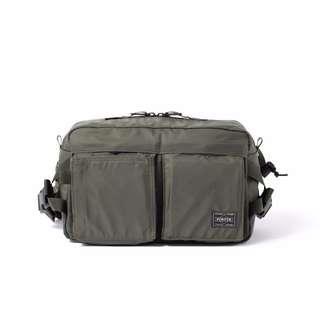 6eaca169e2 Head Porter Japan Olive Waist Bag