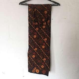 Pocketed Batik Pallazo
