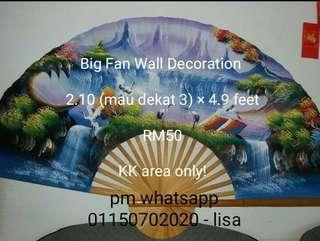Big Fan Wall Deco